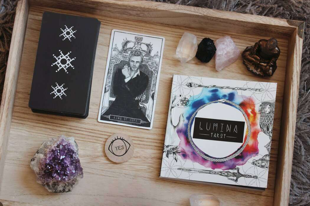 crystals and metaphysical books