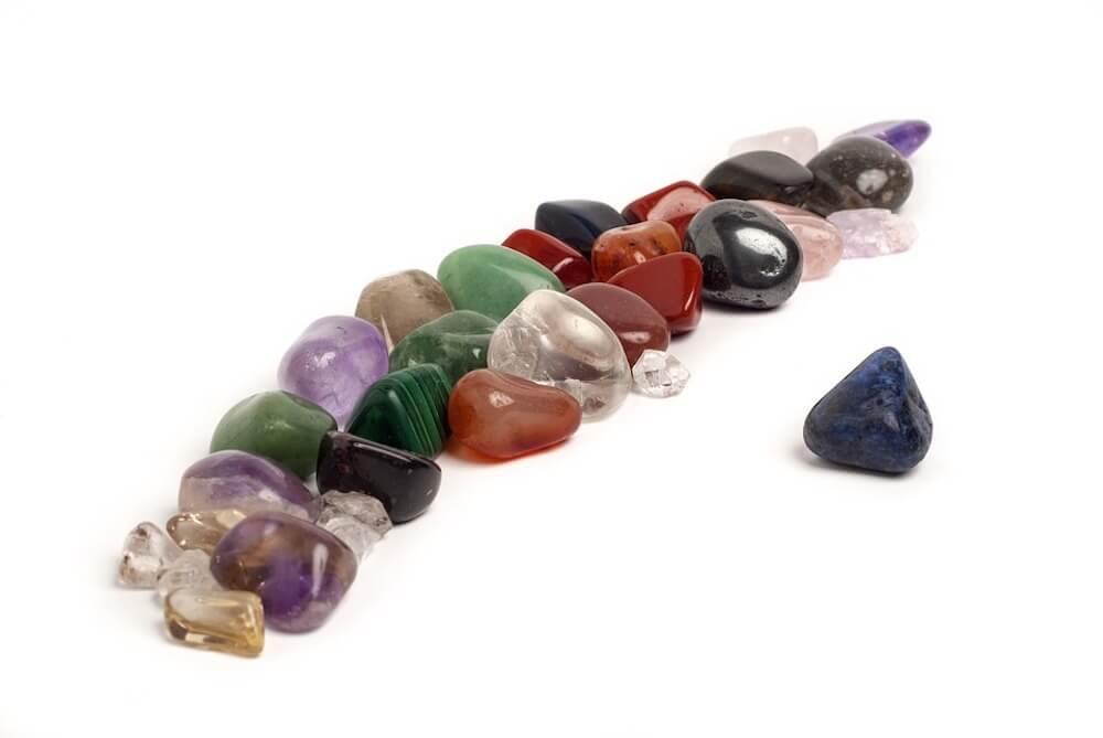 mix of tumbled stones