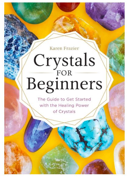 crystals for beginners book