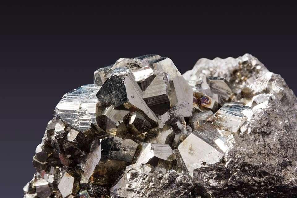 pyrite crystals for abundance