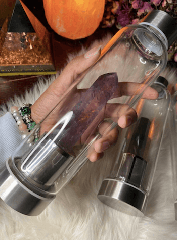 Indulgenart best crystal water bottles