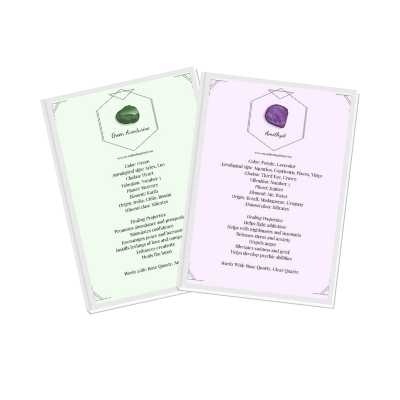 printable crystal meaning set cards