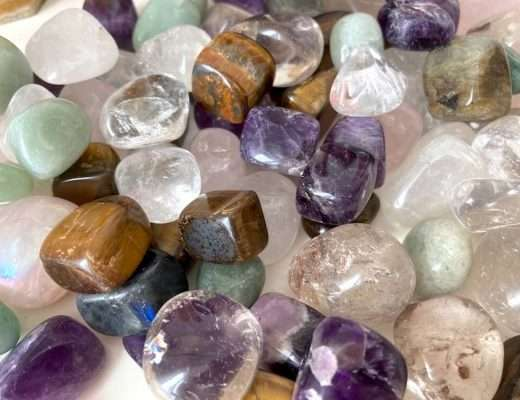 crystals for back pain