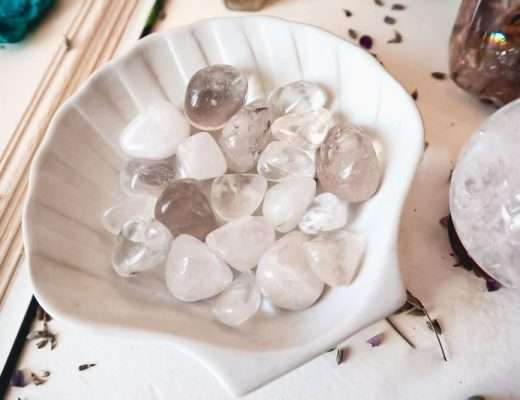 intentions for clear quartz