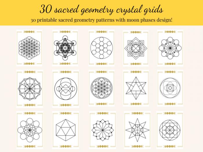 crystal grids bundle