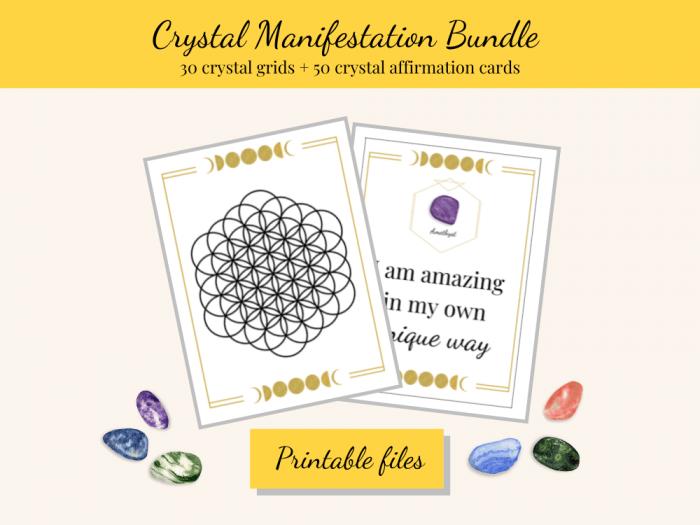 crystal manifestation bundle