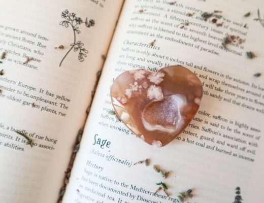 flower agate healing properties