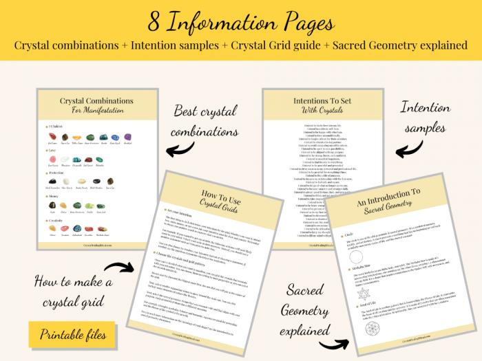 information pages manifestation bundle